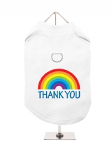 ''NHS: Thank You Rainbow'' Harness-Lined Dog T-Shirt