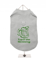 ''St. Patrick: Top O The Morning'' Harness-Lined Dog T-Shirt